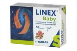 Линекс при лечении диареи у детей