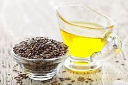 Отвар из семян льна для лечения запора у пожилых