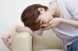 Тошнота - симптом запора